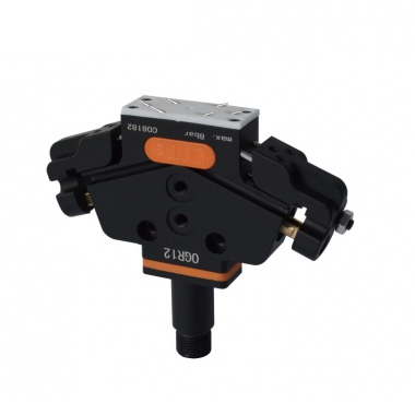 Double port pneumatic clamp