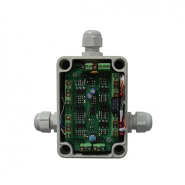 Microprocessor sensor box