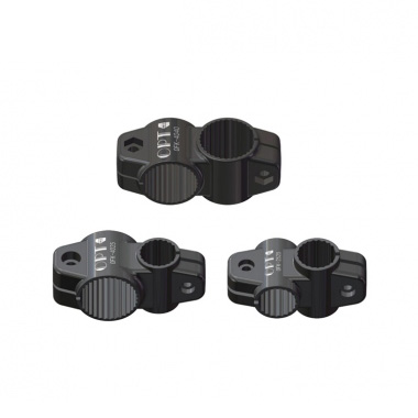 Carbon fiber round pipe straight joint