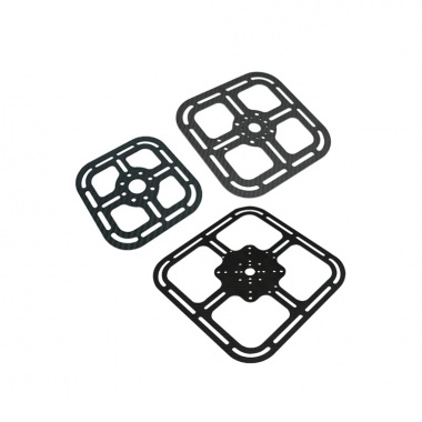 Carbon fiber square mounting plate