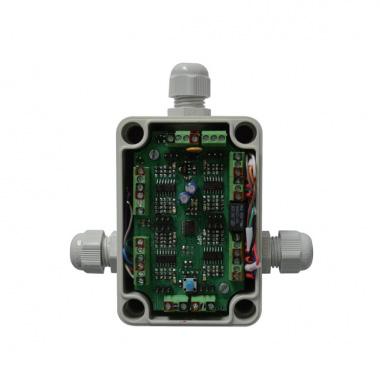 微处理器声传感器盒